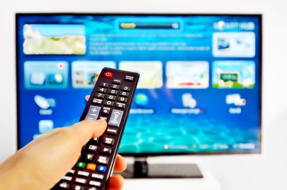 moderner Smart TV