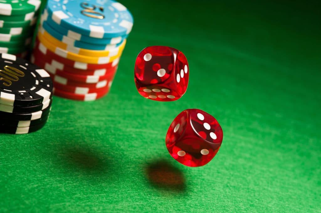 Würfel im Casino